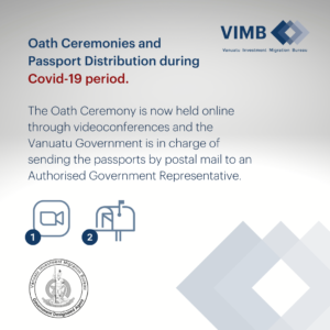 Read more about the article Oath Ceremonies and Vanuatu Passports Distribution during Covid19 period