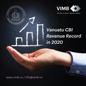 Read more about the article Vanuatu Citizenship By Investment Program Revenue Record in 2020